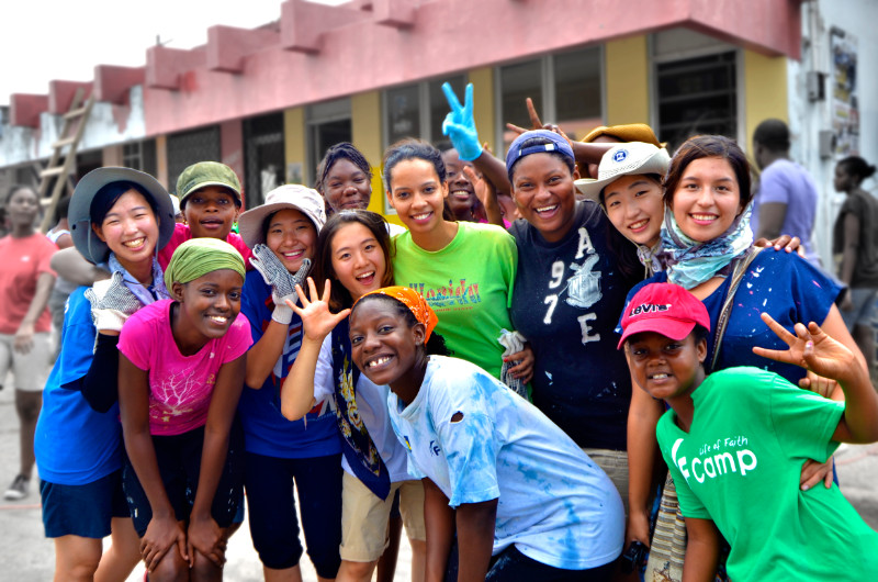 Volunteers - IYF World Camp