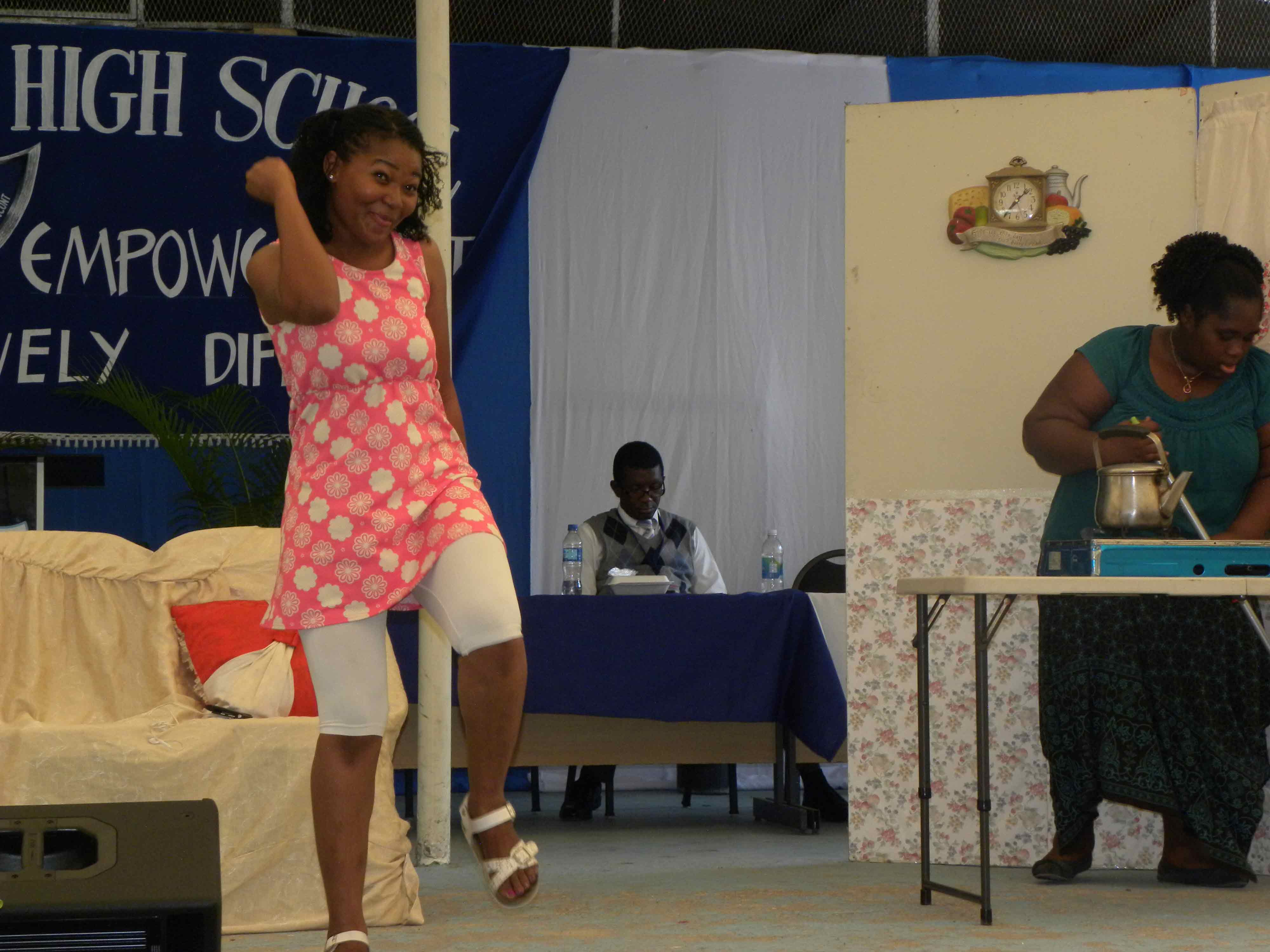 A scene from the play Ana