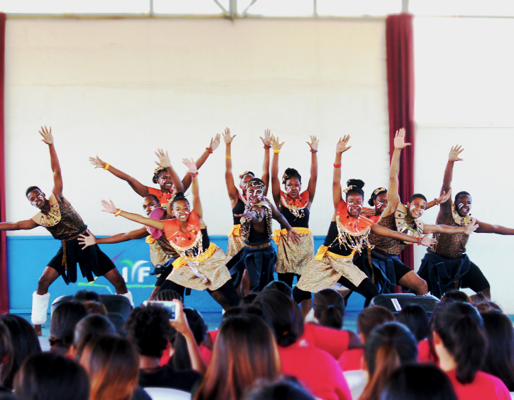 cultural performance - IYF World Camp 2016